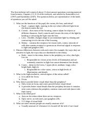 Midterm 1 Fill-in Study Guide