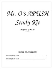 APUSH Study Kit