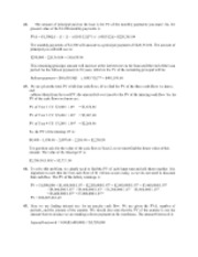 FINA 520 Chapter Answers 32