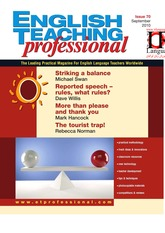 English Teaching Professional Magazine 70