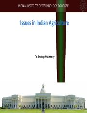 issues-in-Indian-agriculture