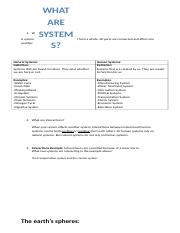 What are systems tracking sheet
