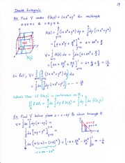 Notes of Integrals