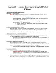 summary-book-corporate-finance-chapter13