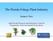 Florida micropropagation