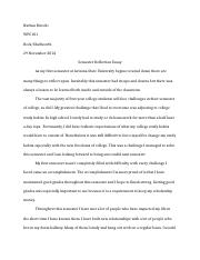 WPC101 Semester Reflection Essay.docx