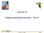 L13_Engineering Measurements Part 2