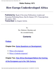 Rodney_How Europe Underdeveloped Africa - Copy - Copy