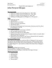 J.P. Morgan Resume