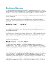 Chp9The Nature of Contracts