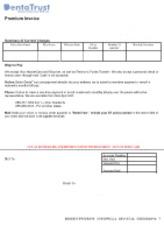 dentatrust com payment Invoice - DentaTrust Underwritten by DCP Inc Premium Invoice Policy ...