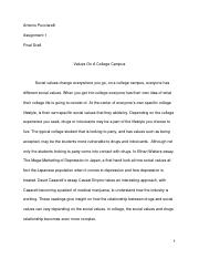 Social values FINAL COPY. WORD DOC.