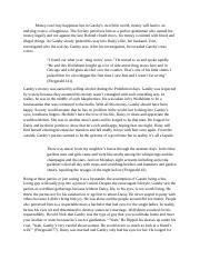 Gatsby Character Paragraph