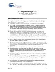 compiler-faqs