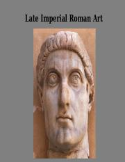 13 Roman Art of the Late Empire