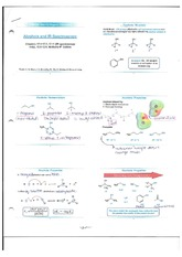Alcohols and IR Spectroscopy notes