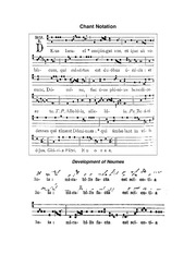 Neumes-Chant-Notation