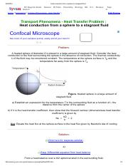 Heat conduction from a sphere to a stagnant fluid.pdf