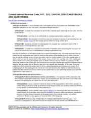 WK_Current Internal Revenue Code SEC 1212 CAPITAL LOSS CARRYBACKS AND CARRYOVERS.pdf
