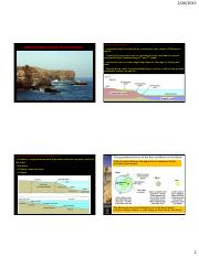 Lecture 12 Marine Environments 2015