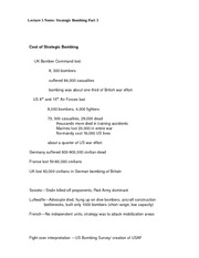 Lecture 5 Notes Strategic Bombing Part 3