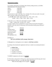 Gateway Tests-Managerial Accounting 2