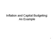 7-4b.- Inflation and Capital Budgeting Example