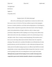 Doping in Sports - Essay.docx