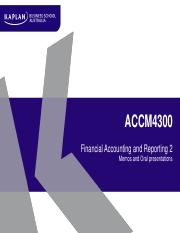 ACCM4300_T2_2017_Student_Memo_and_presentations_session.pdf