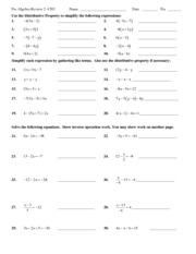 Ch 3 Test Review 2 2013