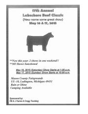 2015 Lakeshore Beef Show