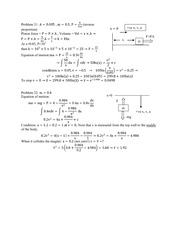 MECN002_CLASS NOTES_Problem 31 and 32