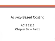 ACIS 2116 Chapter 6 Part 1 with Blanks