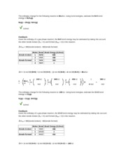 10.7_Bond Enthalpy from Enthalpy Rxn
