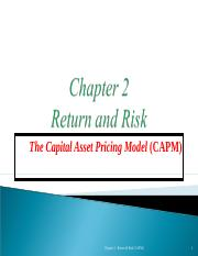 Ch 2 - Return and Risk.ppt