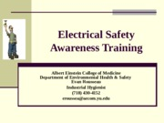 Einstein Electrical Safety Awareness Training Slides.ppt