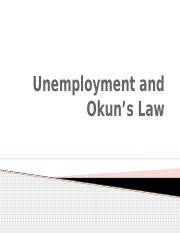 Unemployment and Okuns Law.pptx