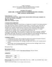 ADMS1000_Course Outline Fall 2015-2
