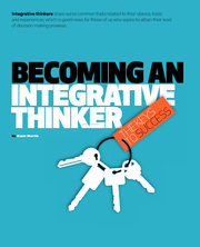 INTERGRATION THINKING Becominganintegrativethinker
