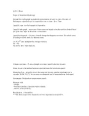 notes7- Water Hydrology Notes