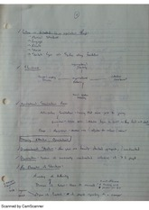 Structures and Behaviors Notes