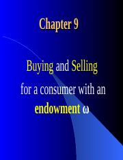 06.Endowment_and_the_Intertemporal_Choice.ppt