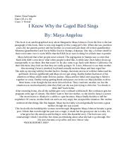 I Know Why the Caged Bird Sings(BookReport)
