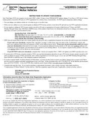 mv232 - *ADDRESS CHANGE Change your address online at www.dmv.ny ...