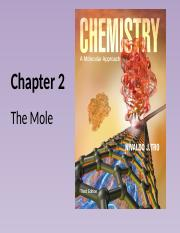 Chapter 2 - 4. the Mole