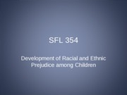 10 development of racialethnic prejudice