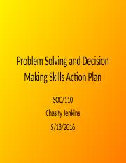 Problem Solving and Decision Making Skills Action Plan.pptx
