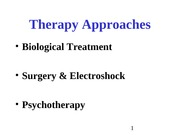 therapy approacheshb
