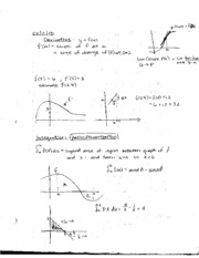 Class Notes on Fundamental Theorem of Calculus and Usubstitution