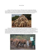 The Ivory Trade -- ENGLISH